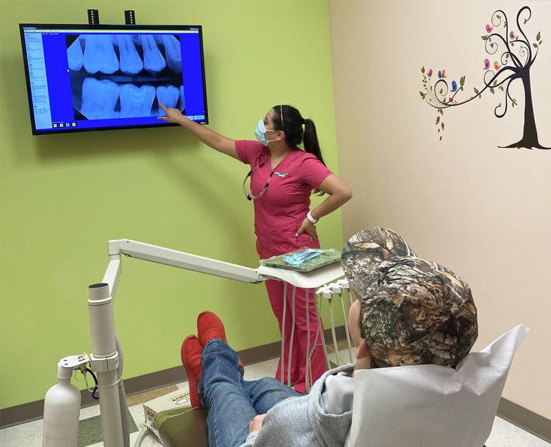 Dental Exam and Cleaning in College Station